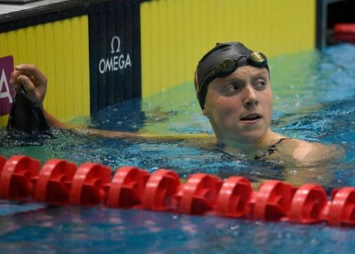 Natation: 2e meilleur chrono de l'histoire pour Ledecky sur 400 m libre