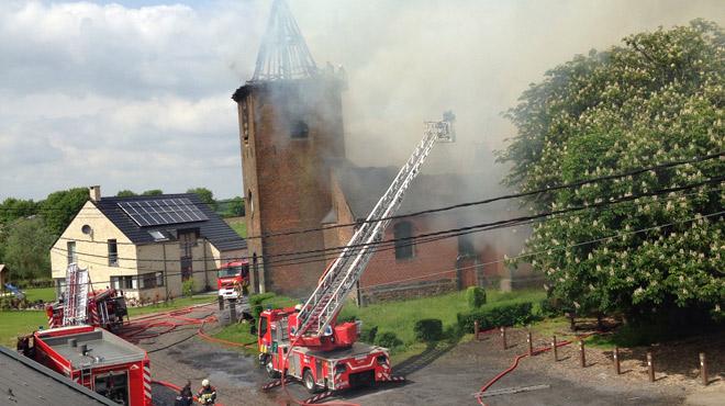 Vol inattendu à Lobbes: la cloche de 700 kg de l'église de Mont-Sainte-Geneviève a disparu