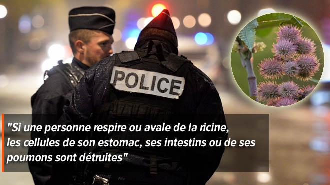 Un attentat au poison a été déjoué en France: deux frères d'origine égyptienne ont été arrêtés