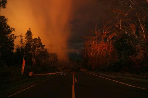 Explosion sur le volcan Kilauea, les habitants appelés à s'abriter