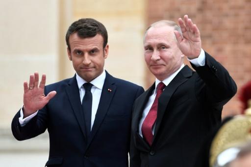 Tête-à-tête Macron-Poutine le 24 mai près de Saint-Pétersbourg