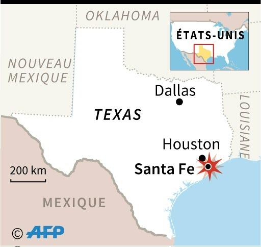 Une fusillade dans un lycée au Texas fait 8 à 10 morts