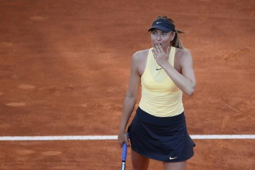 Tennis: Sharapova s'impose en plus de trois heures à Rome