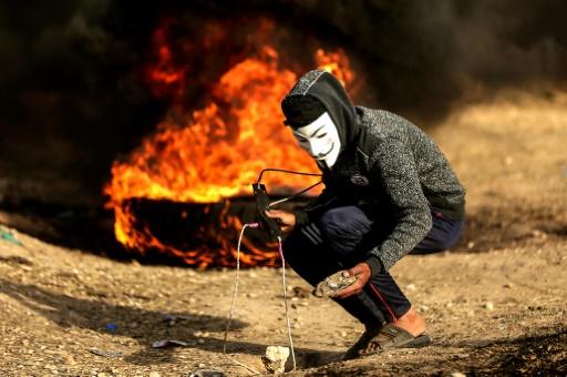 Manifestations limitées à la frontière entre Israël et la bande de Gaza
