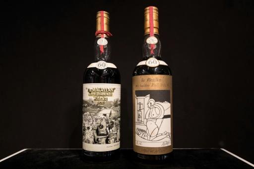Hong Kong: deux millions de dollars pour deux bouteilles de whisky