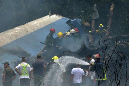 Cuba : un avion s'écrase à La Havane avec plus de 100 personnes à son à bord