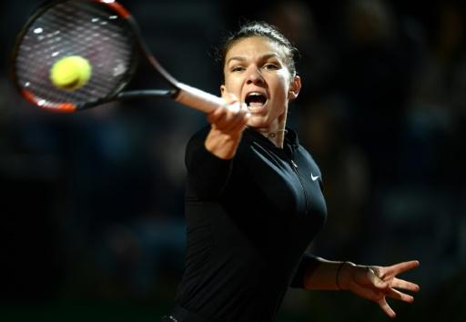 Tennis: Halep trop forte pour Garcia à Rome