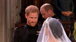 Mariage de Meghan et Harry- Je fais dans mon froc aurait murmuré le prince à Meghan avant d'échanger leurs voeux (vidéo)