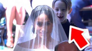 Mariage de Meghan et Harry- ce petit garçon d'honneur laisse exploser sa joie lors de l'entrée de la mariée (vidéo)
