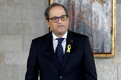 Le nouveau président catalan lance un premier défi à Madrid