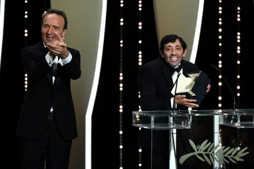 L'acteur italien Marcello Fonte prix d'interprétation masculine à Cannes pour
