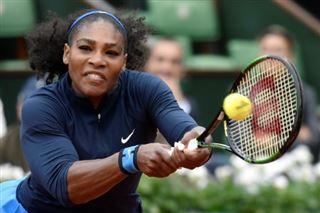 Après le mariage princier, Serena Williams s'entraîne à Roland-Garros