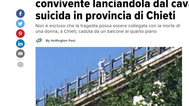Un homme pousse sa fille de 12 ans d'un pont en Italie