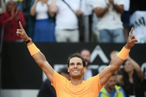 Tennis: à Rome Nadal reste le patron, Svitolina récidive