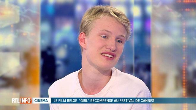 Victor Polster, de retour en Belgique après avoir été récompensé à Cannes, réagit au micro de RTL INFO