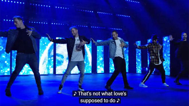 Les Backstreet Boys sont de retour: voici leur nouvelle chanson... et leur choré (vidéo)