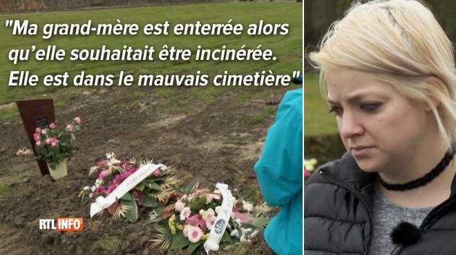 Corine apprend la mort de sa grand-mère, soignée dans un home, après son enterrement: la famille est sous le choc