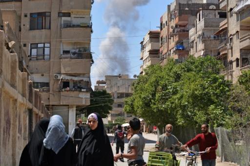 Le camp de Yarmouk à Damas, un des symboles du calvaire syrien