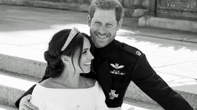 Harry et Meghan publient les photos officielles de leur mariage