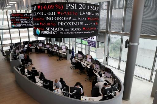 La Bourse de Paris au plus haut depuis mi-décembre 2007 grâce à l'euro