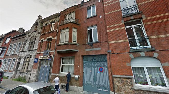 Liège: une télévision prend feu et embrase toute une maison