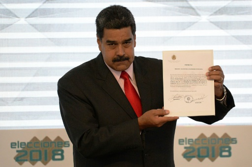 Maduro réplique à Trump et expulse ses représentants au Venezuela