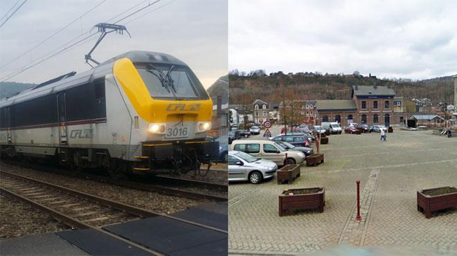 Quatre jeunes vandalisent puis brûlent un train en panne au milieu du village de Poulseur