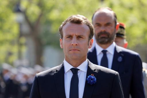 Sondage: la popularité de Macron (-3) et Philippe (-1) en baisse