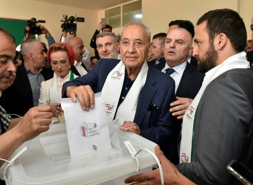 Liban: Nabih Berri, allié du Hezbollah, réélu à la tête du Parlement