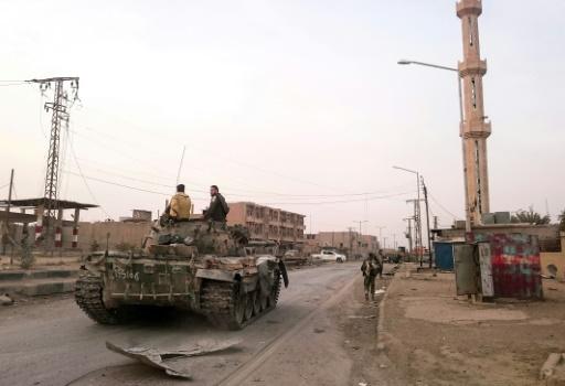Syrie: des frappes américaines touchent des positions du régime dans l'est