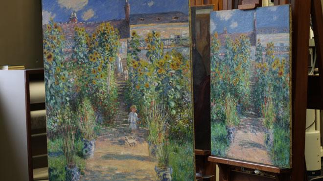 Deux peintures soeurs de Monet réunies pour la première fois aux Etats-Unis (photos)