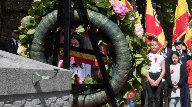 Quatre soldats belges tués lors de la Première Guerre mondiale réinhumés le 1er juillet