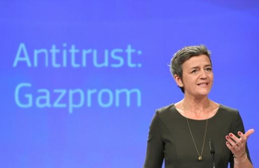 Abus de position dominante: Gazprom échappe à une amende de l'UE