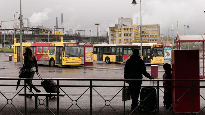 Mouvement de grève au TEC Charleroi: de nombreux bus et métros ne circulent pas