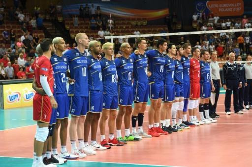 Ligue des nations: les volleyeurs français partent à la défense de