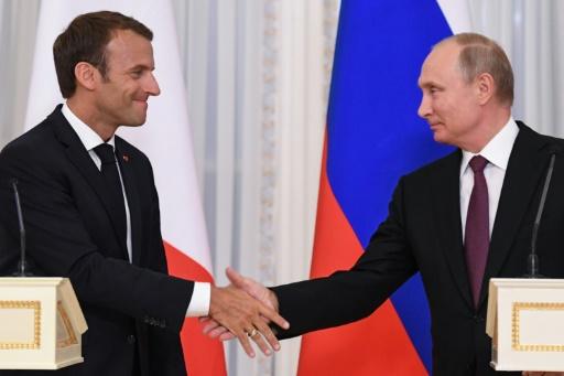 Iran, Syrie, Ukraine: Macron veut