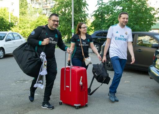 Ligue des champions: quand un ministre héberge des supporters pour la finale à Kiev