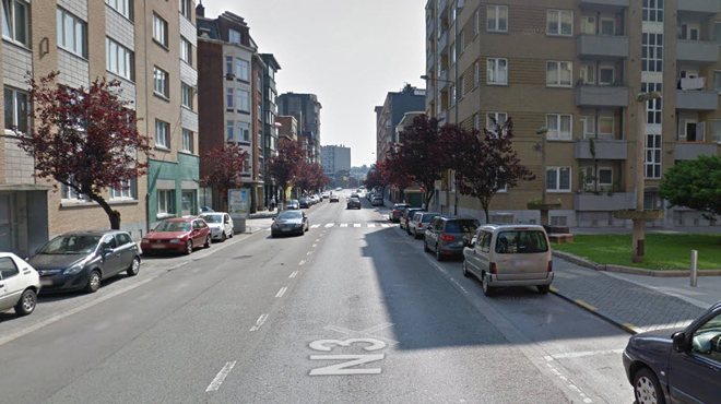 Brutalement renversé par une voiture, un piéton lutte pour survivre à Liège