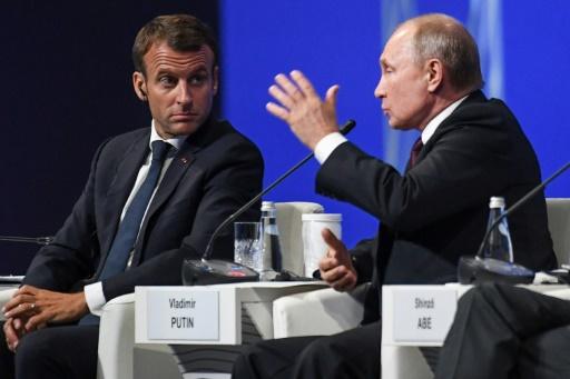 Macron veut ancrer la Russie de Poutine en Europe