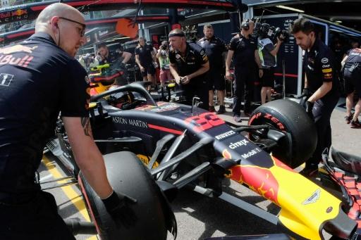 GP de Monaco: Verstappen (Red Bull) privé de qualifications après son accident en essais libres