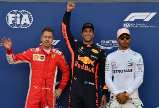 GP de Monaco: Ricciardo décroche la deuxième pole position de sa carrière