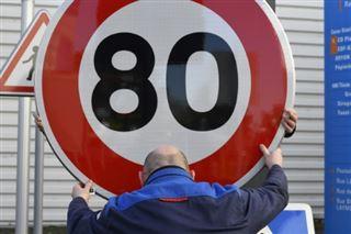 Plus d'un millier de motards à Caen contre les 80km/h