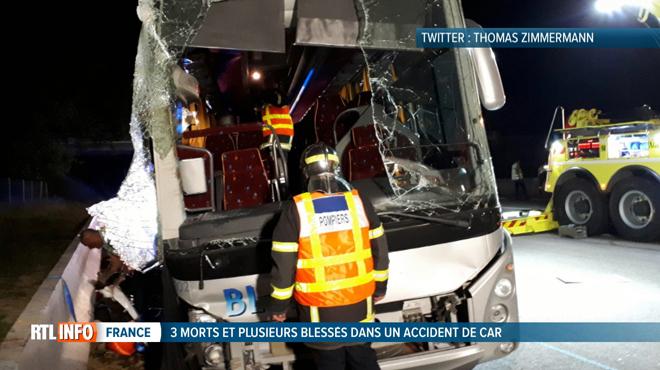 Drame de la route en France: trois supporters de rugby meurent dans un accident de bus sur l'A7