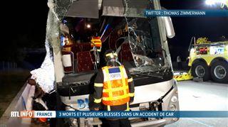 Drame de la route en France- trois supporters de rugby meurent dans un accident de bus sur l'A7
