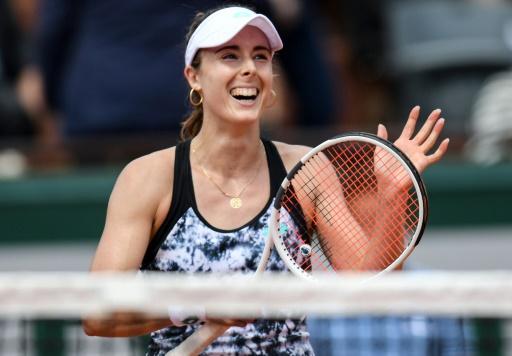 Roland-Garros: Cornet se sent