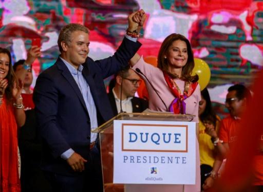 Duque, dauphin d'Uribe qui mène la retour de la droite dure en Colombie