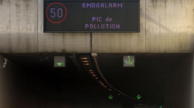 Attention, la qualité de l'air est MÉDIOCRE à Bruxelles et moyenne dans le reste du pays