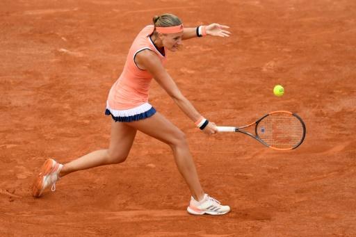 Roland-Garros: Mladenovic chute d'entrée face à Petkovic
