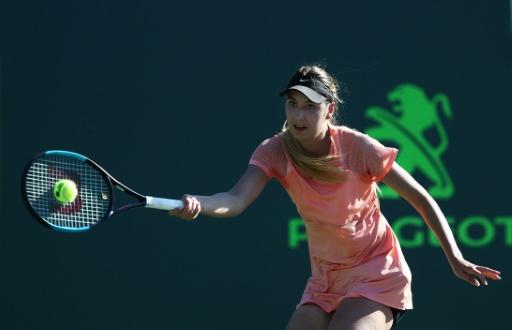 Roland-Garros: Océane Dodin, trois jeux et puis s'en va