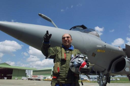 Le Rafale, un fleuron défendu bec et ongles par Serge Dassault